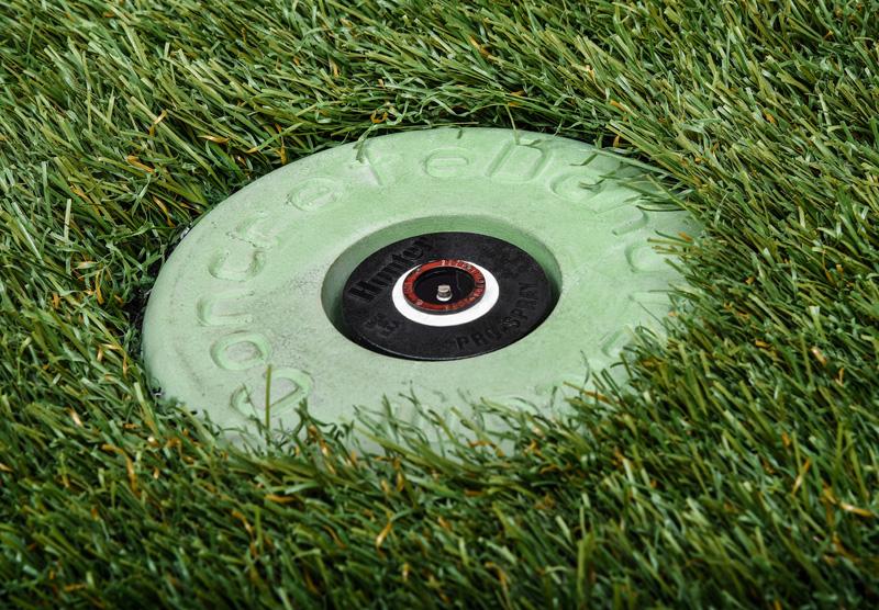 SPRAY-DONUT-FULL-IN-GRASS